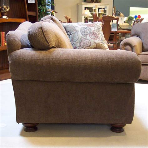 sofa king great king hickory great rooms 9500 88 quot loose pillow back sofa