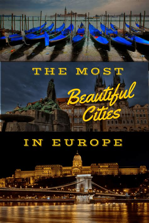 17 of the most beautiful cities in europe
