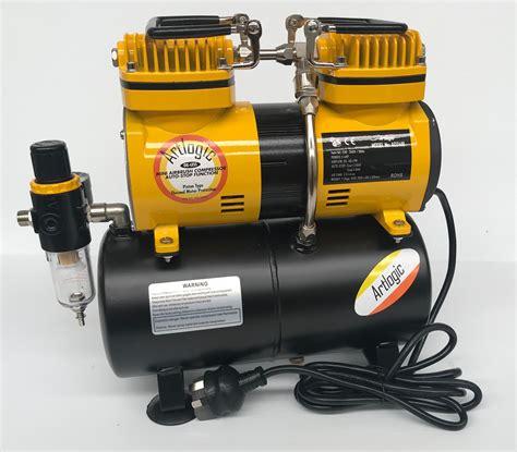 artlogic ac2418 piston mini air compressor with tank