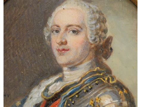 Pictures Of Painted Fireplaces by Miniature Painting On Ivory King Louis Xv Of The