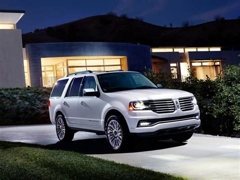 lincoln navigator l 2015 best 8 seater suvs