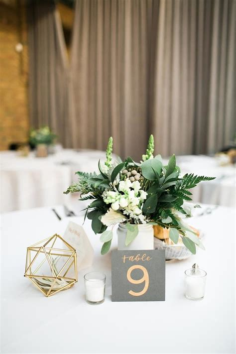 geometric wedding decor wedding party ideas