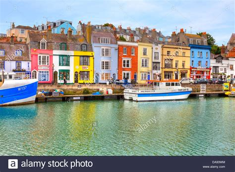 houses to buy in weymouth historic harbour of weymouth dorset united kingdom stock photo royalty free image