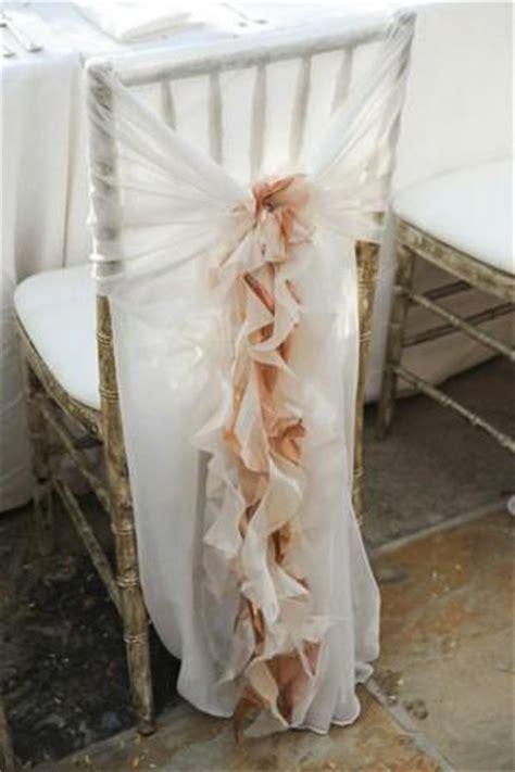 Ruffle Chair Sash by Wedding Ruffled Wedding Chair Covers And Sashes