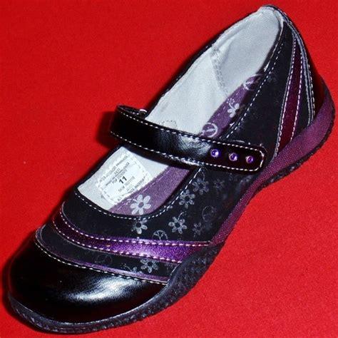 new s toddler s kk jayme black purple flats