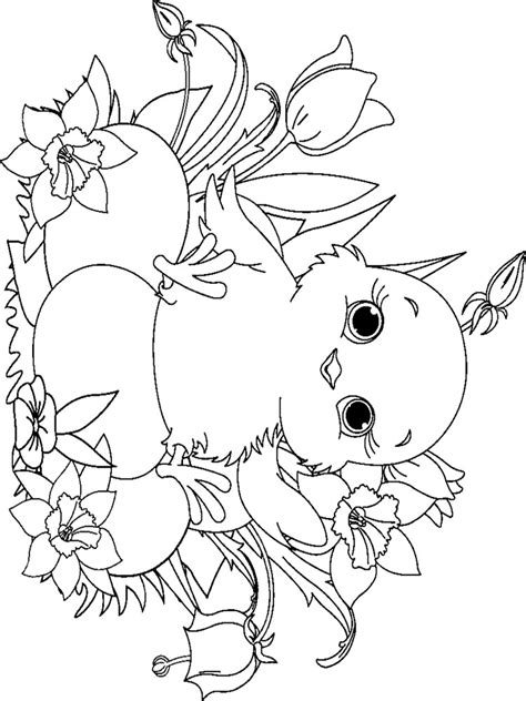 coloring sheets of baby chicks baby chick coloring pages download and print baby chick