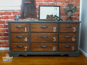 Cabinet Pulls Vintage Dresser Features Industrial Vibe Prodigal Pieces