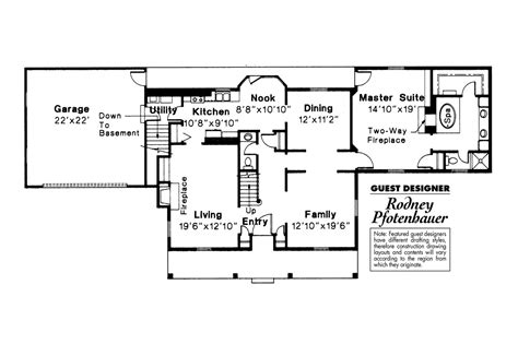 colonial floor plan colonial house plans kinderhook 42 003 associated designs