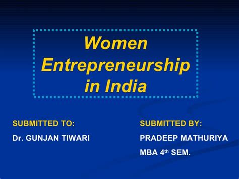 Entrepreneur Mba Colleges In India by Enterpreneurshp In India