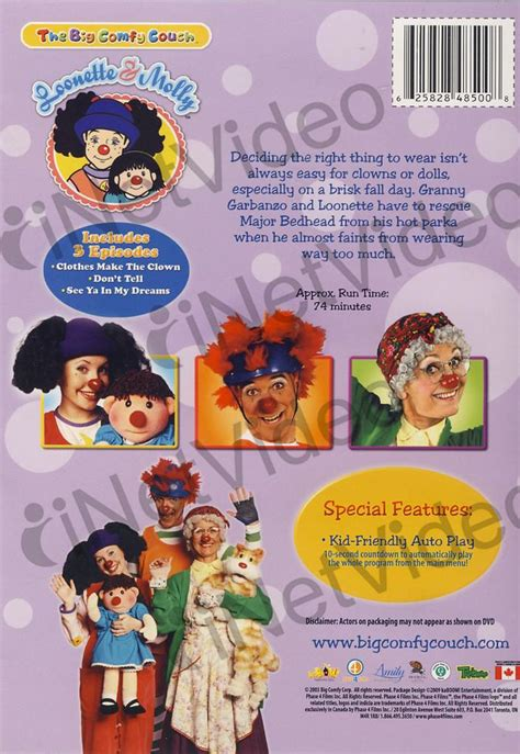 the big comfy couch movie big comfy couch dressing up on dvd movie