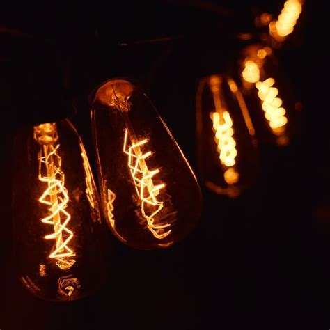 Edison Bulb Patio String Lights Edison Bulb Outdoor String Lights 20 Stunning Rustic Edison Bulbs Wedding Decor Ideas Deer