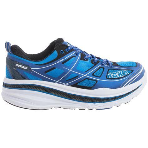 hoka road running shoes hoka one one stinson 3 road running shoes for save 50