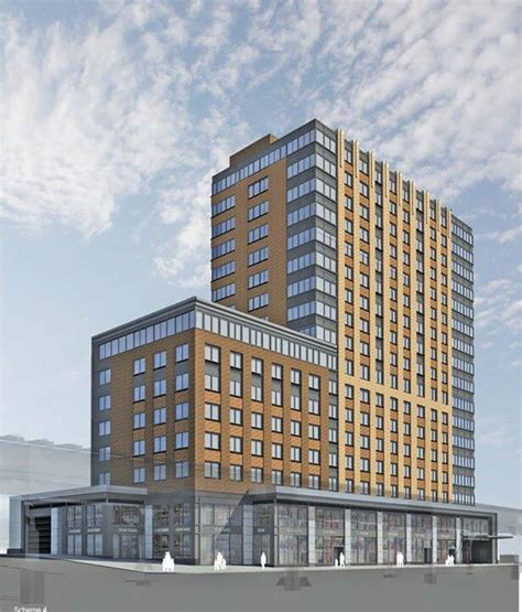 East Meadows Floor Plan by Reveal For 17 Story 134 Unit Mixed Use Building At 810