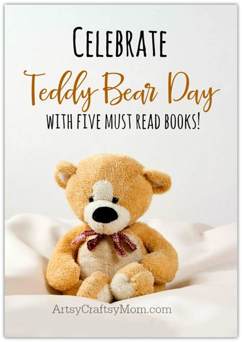 teddy the books teddy day five must read books artsy craftsy