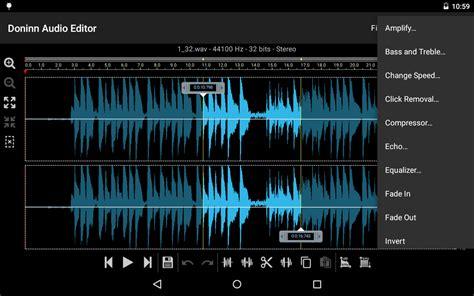 song editor doninn doninn audio editor