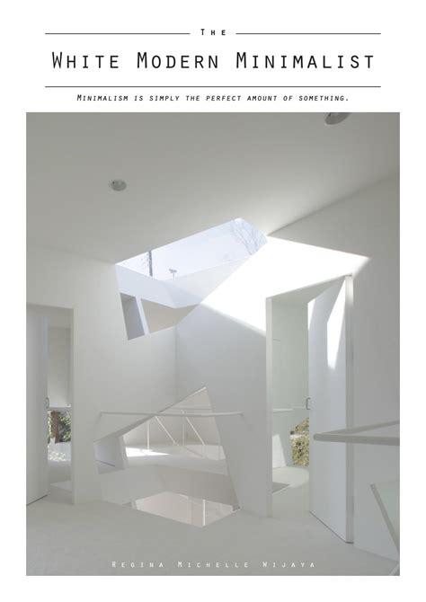 white modern minimalist book  christojulivan issuu