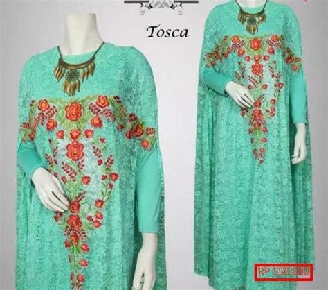 Baju Muslim Brokat Untuk Orang Gemuk 23 Model Gaun Brokat Muslimah Syar I Terbaru Model Baru