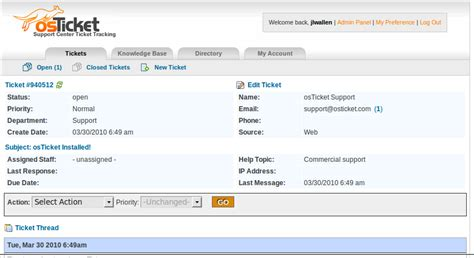 Open Source It Help Desk Ticketing System by Review Osticket Help Ticket System Techrepublic