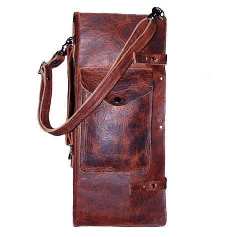 pattern for drum stick bag distressed leather drumstick bag