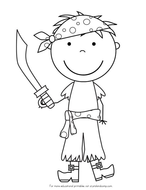 cute pirate face coloring page www imgkid com the