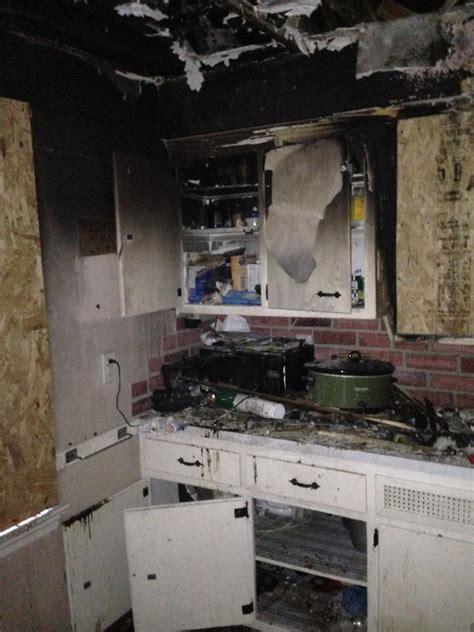 Kitchen Damage Servicemaster By Disaster Recon Damage Photo Album