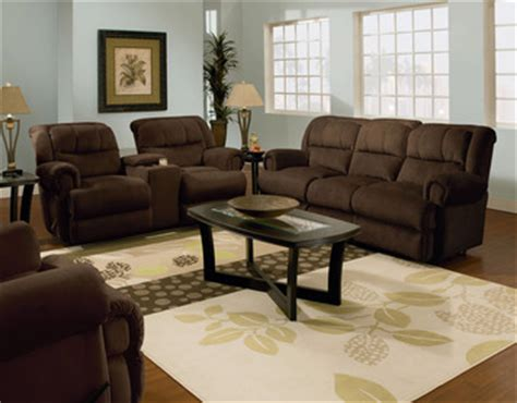 double reclining sofa with fold down table evans powerized double reclining sofa w fold down tray