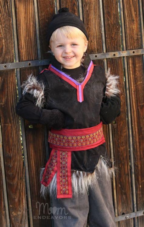 Kristoff Frozen Kostum diy no sew disney frozen kristoff costume