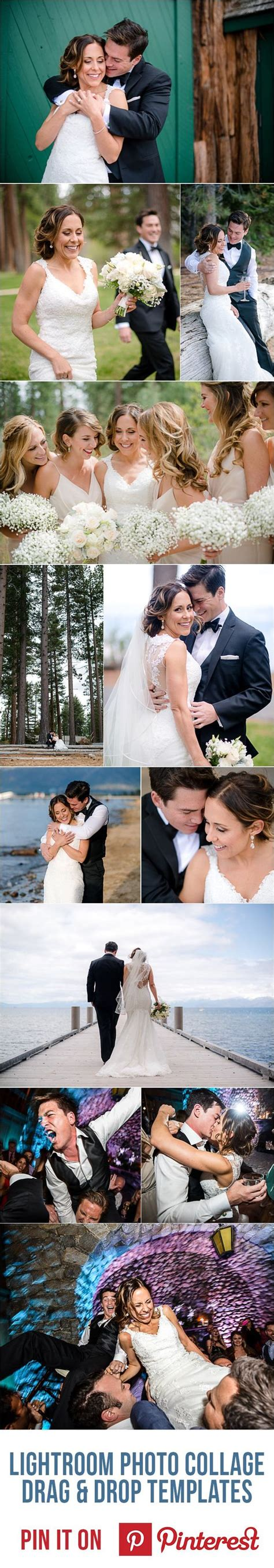 Lightroom Photo Collage Templates To Make Designing Collages As Simple As Drag Drop Wedding Lightroom Collage Templates