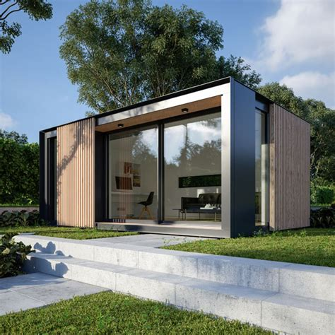 backyard office building uk garden pods outdoor office building designed by pod space