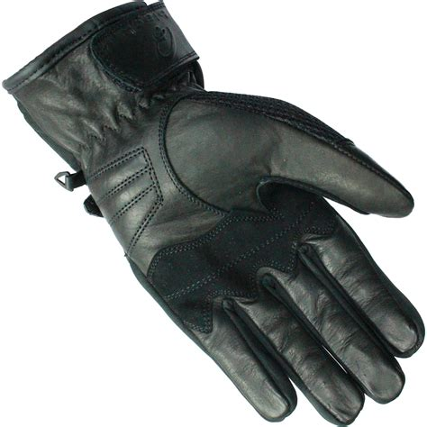 vented leather motorcycle black airflow leather mesh summer motorcycle gloves vented