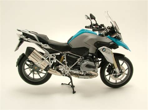 Modell Motorrad Bmw R 1200 Gs by Bmw R 1200 Gs 2013 Blau Silber Modellmotorrad 1 10