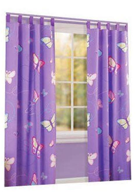 Purple Butterfly Curtains Drapes Curtains Curtain Panels And Window Panels On