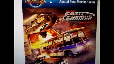 fast and furious 8 universal studios breaking news universal studios hollywood new attraction
