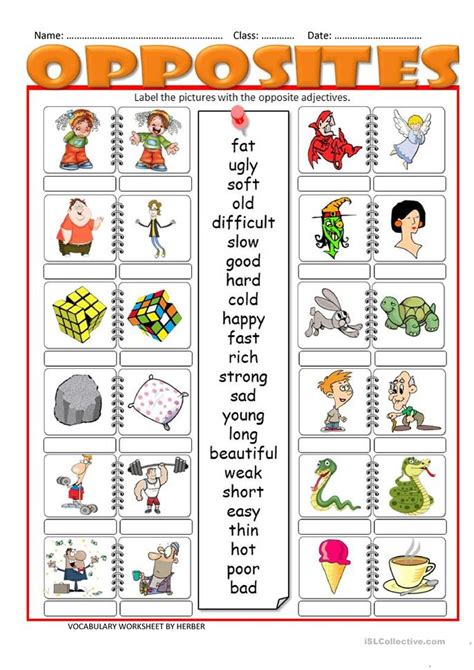 printable opposite games for kindergarten common worksheets 187 opposites printables preschool and