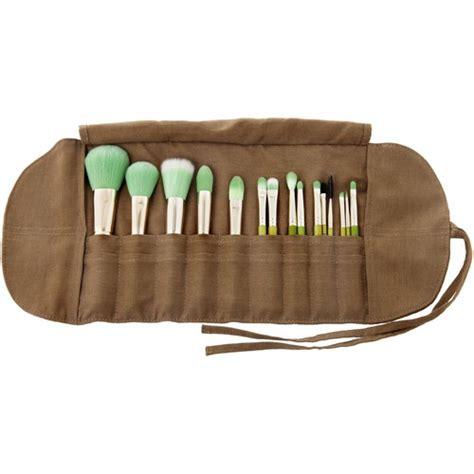 Bambu Brush Make Up 7 Set Bamboo Set Kuas Kosmetik Alat Kecantikan bdellium tools green bambu complete 15pc brush set