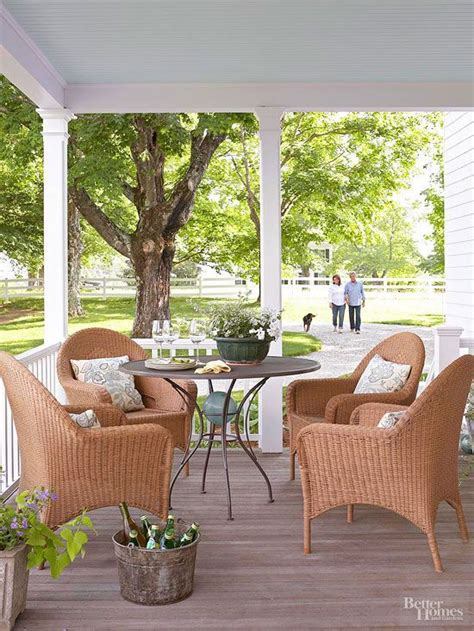 Front Porch Table And Chairs Front Porch Design Ideas Home Decorating