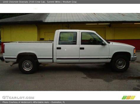 1999 Chevrolet Silverado 2500 Crew Cab In Summit White