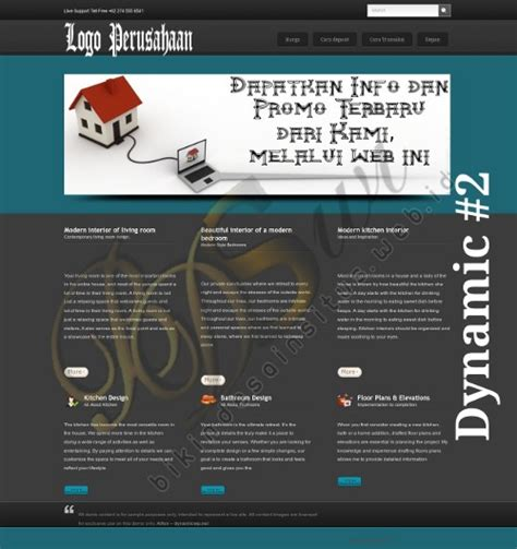 contoh layout desain web web design company