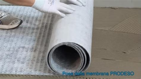 guaina per pavimenti membrane impermeabilizzanti sotto pavimento