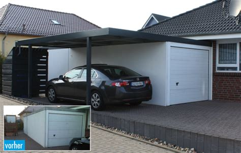 garage baugenehmigung carport anbau an garage carport 2017
