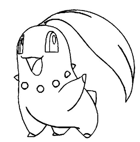 Pokemon Coloring Pages Chikorita | coloring pages pokemon chikorita drawings pokemon