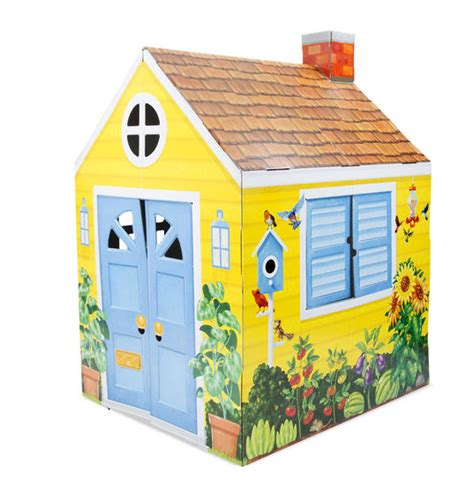 Country Cottage Indoor Playhouse For Children In Sa Cardboard Cottage Playhouse