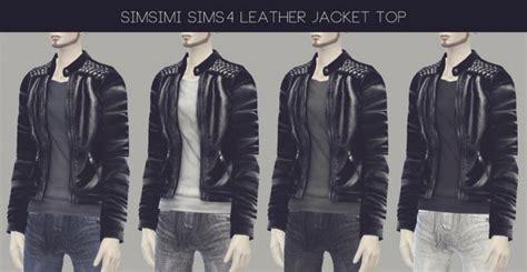 Jaket Sweater Wanita Ghe 1030 sims 4 leather jacket
