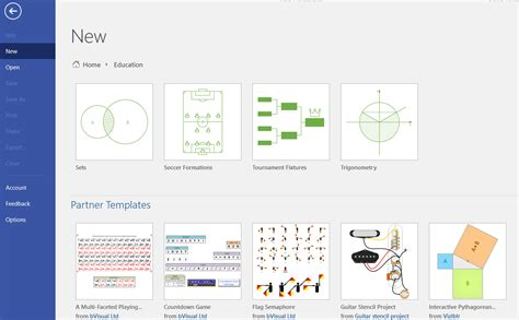 Third Party Templates In Visio Pro Orbus Visio Blog Education Template