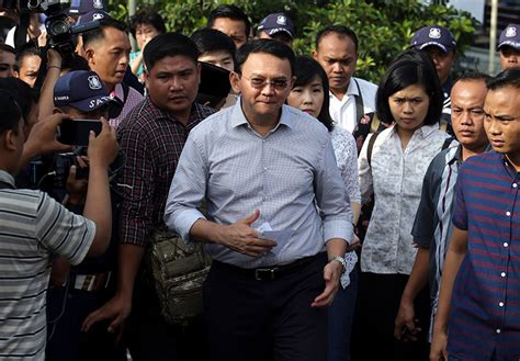 ahok election ahok spared prison time after conceding jakarta election