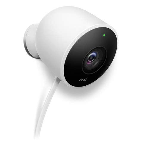 backyard security camera nest cam outdoor security camera nc2100es the home depot