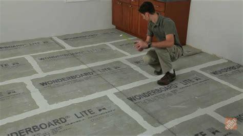 Installing Ceramic and Porcelain Floor Tile   Step 1: Plan