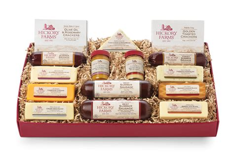 home for the holidays with hickory farms a giveaway