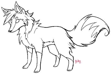fox lineart template by zurisu on deviantart