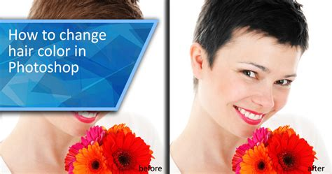 change hair colr online picture editor how to change hair color in photoshop